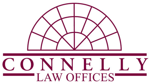 Connelly Law Logo Purple