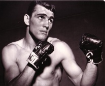 """""""Irish"""" Pat McMurtry was one of the top heavyweight boxers in the 1950s. Pat participated in the first Golden Gloves boxing event hosted by the Tacoma Athletic Commission in 1949."""