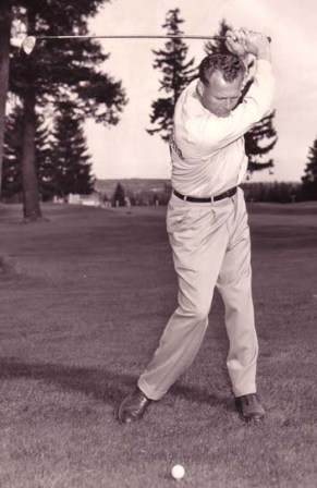 Jack Walters was a two-time winner of the National Left-handers golf championship-winning his first title in 1953 and the second at his home course at the Fircrest Golf Club in 1960.
