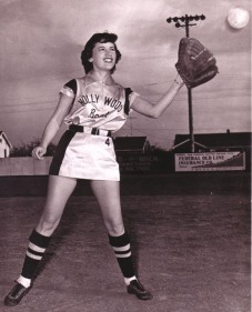Margaret Zepeda played and coached the Hollywood Boat & Motor women's fastpitch softball team in the late 50s.